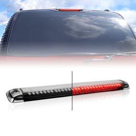 AmeriLite Chrome LED 3rd Brake Lights For Chevy Full Size / Blazer / Suburban : GMC Sierra / Yukon