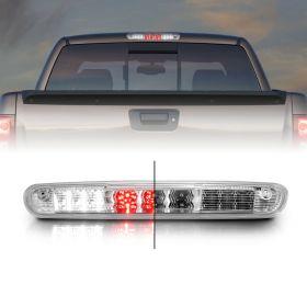 AmeriLite Chrome LED High Mount Stop 3rd Brake Lights For Chevy Silverado : GMC Sierra 1500 2500 3500