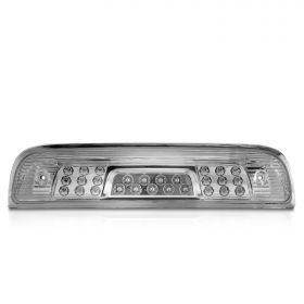 AmeriLite for 2014-2018 Chevy Silverado GMC Sierra LED Chrome 3rd Brake Light Center High Mount Lamp Assembly 1pc included