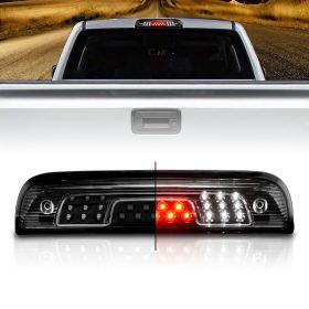 AmeriLite for 2014-2018 Chevy Silverado GMC Sierra LED Black 3rd Brake Light Center High Mount Lamp Assembly 1pc included