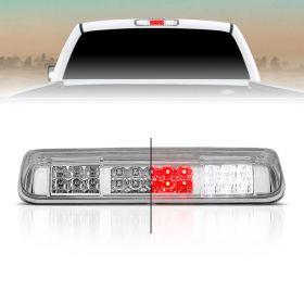 AmeriLite for 04-08 Ford F150 | 07-10 Explorer Sport | Lincoln Mark LT Full LED Chrome Rear Cargo 3rd Brake Light Center High Mount Stop Lamp