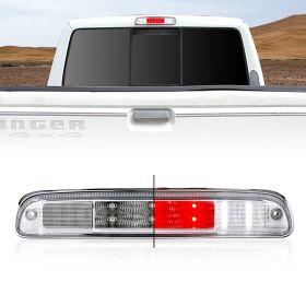AmeriLite Chrome LED High Mount Stop 3rd Brake Lights G2 For Ford Super Duty / Ranger