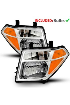 NISSAN PATHFINDER / FORNTIER 05-08 H.L CHROME AMBER (OE)