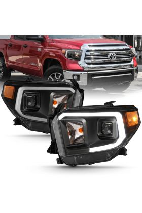 TOYOTA TUNDRA 14-17 PROJECTOR PLANK STYLE H.L (BLACK HOUSING) (W/O DRL)