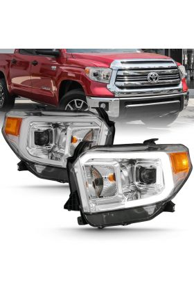 TOYOTA TUNDRA 14-17 PROJECTOR PLANK STYLE H.L (CHROME HOUSING) (W/O DRL)