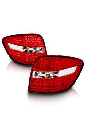 MBZ M CLASS W164 06-07 LED T.L RED/CLEAR
