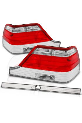 MBZ S CLASS W140 97-99 T.L RED/CLEAR
