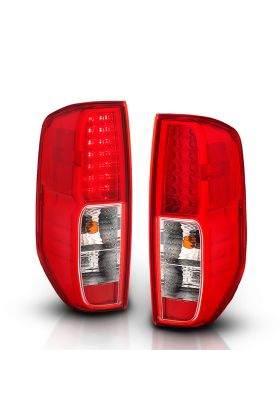 NISSAN FRONTIER 05-08  LED T.L RED/CLEAR