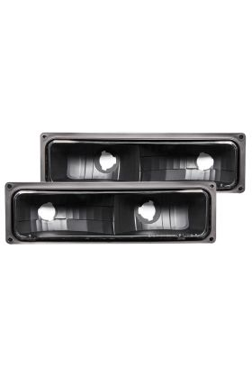 CHEVY FULL SIZE 88-98 PACK/SIGNAL LIGHTS BLACK