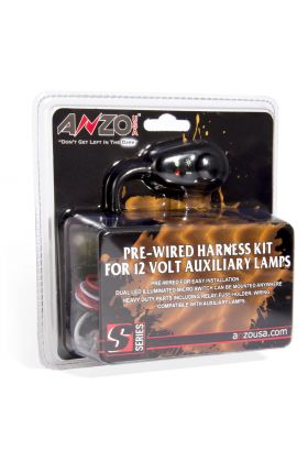 Universal Auxiliary Light Complete Wiring Kits.