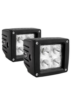 3 X 3 LED Off Road Light without harness (CSL)