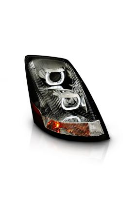 VOLVO VN/VNL SERIES 04-15 PROJECTOR U BAR STYLE H.L CHROME AMBER REFLECTOR (RIGHT)