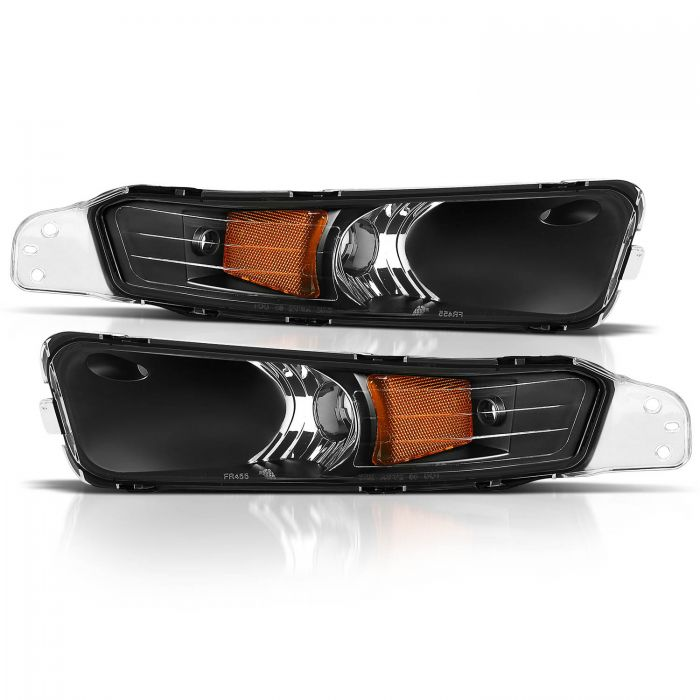 FORD MUSTANG 05-09 PARK/SIGNAL LIGHTS BLACK AMBER